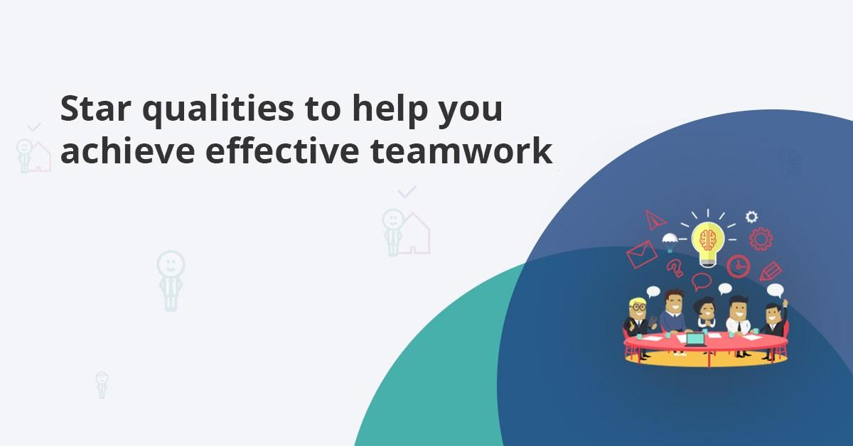 Team player qualities to achieve effective teamwork