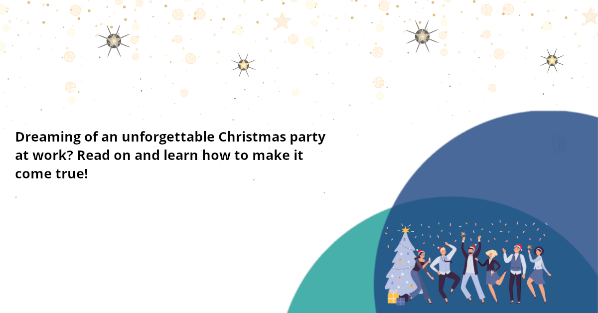 Have the ideal Christmas party at work! Follow these ideas and excel in Christmas office party planning.